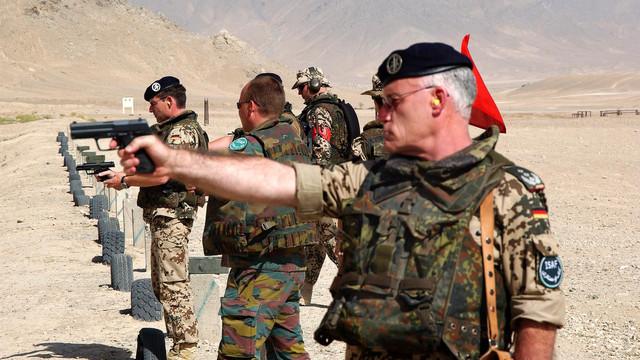 Forțele armate germane își suspendă exercițiile de pregătire militară în Irak