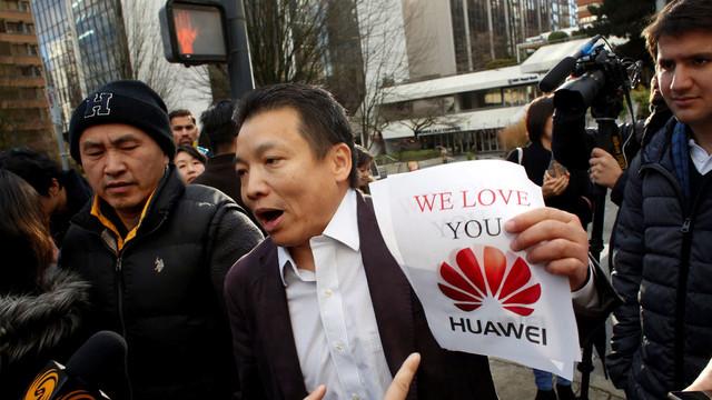 Protest al Chinei față de restricțiile impuse de SUA companiei Huawei