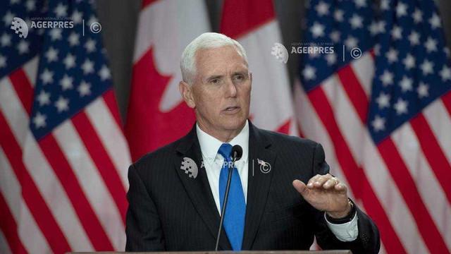 Vicepreşedintele american Mike Pence susţine că SUA şi Canada trebuie să conlucreze în problema Venezuelei şi Cubei