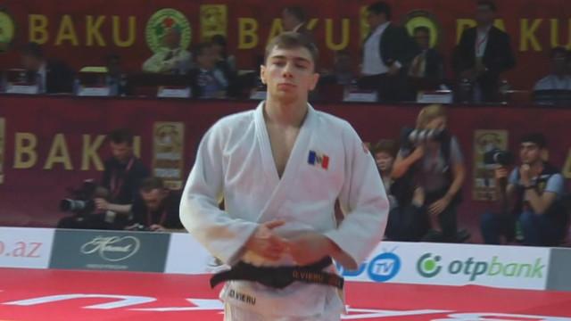 Grand Slam pentru judocanul moldovean Denis Vieru, la Baku