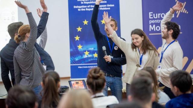 Concursul pentru funcţia de Tânăr Ambasador European