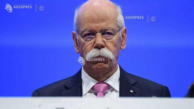 Dieter Zetsche: Toate costurile Daimler vor fi supuse unui examen minuţios, după un start moderat în 2019