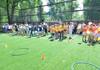 FOTO | Două terenuri de minifotbal au fost amenajate în curțile de bloc din Chișinău