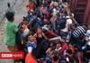 Autorităţile mexicane au găsit sute de migranţi în patru camioane de transport marfă
