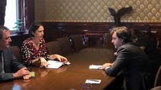 Ministrul de Externe s-a întâlnit cu doi membri ai Consiliul Național de Securitate de la Casa Albă