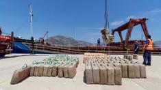 Navă sub pavilionul R.Moldova, cu 10 tone de hașiș la bord, reținută în Spania
