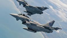 Două avioane Eurofighter Typhoon s-au ciocnit în nordul Germaniei
