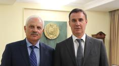 Întrevederea viceprim-ministrului pentru reintegrare Vasilii Șova și ministrul agriculturii din Rusia, Dmitrii Patrușev