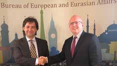 Ministrul de Externe, Nicu Popescu, s-a întâlnit cu Asistentul Secretarului de Stat al SUA pentru Europa și Eurasia