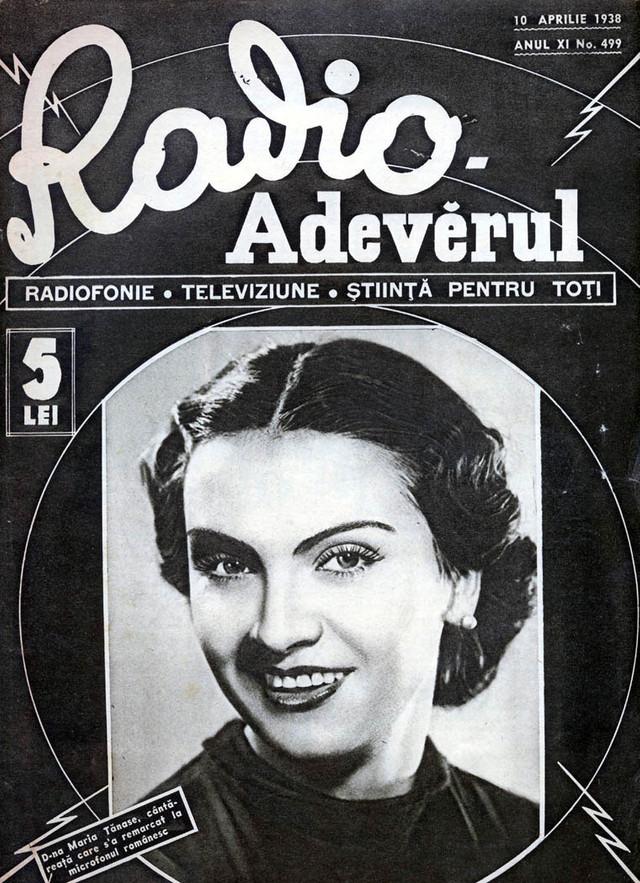 PORTRET | Maria Tănase – un fenomen unic în muzica românească. Debutul la radio şi dragostea pentru Brâncuşi