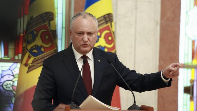 Igor Dodon îl va invita pe Eduard Harunjen la o discuție și spune cum pot fi demiși șefii mai multor instituții contrar legislației