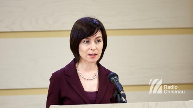 Maia Sandu a calificat decizia PDM-ului de a trece în opoziție drept una firească, dar întârziată