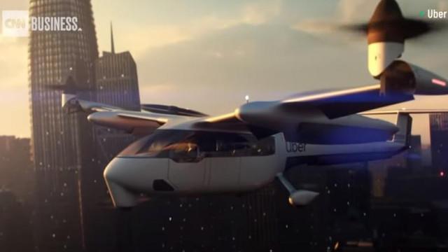 VIDEO | Cum arată mașina zburătoare dezvoltată de Uber. Va transporta primii pasageri în anul 2023