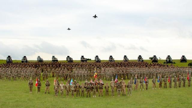 Saber Guardian 2019 | Militarii Armatei Naționale participă la cel mai mare exercițiu multinațional care are loc în România