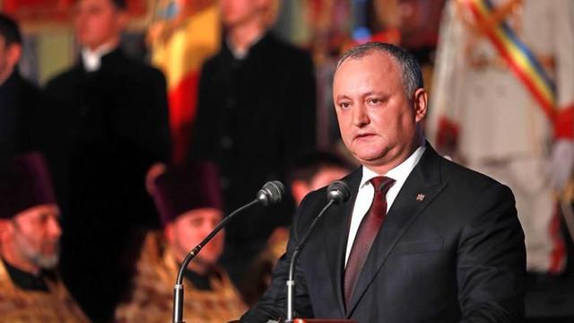 Igor Dodon: Niciun fel de federalizare nu va fi în Republica Moldova