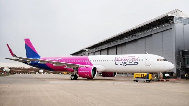Wizz Air Group anunţă o reducere cu 4,4% a emisiilor în luna mai faţă de anul precedent
