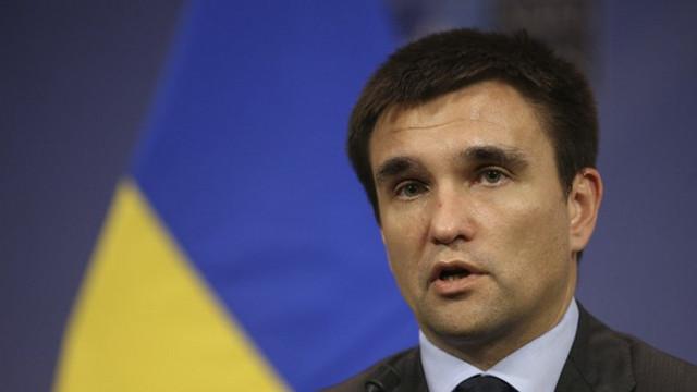 Pavlo Klimkin a subliniat necesitatea unei prezenţe internaţionale în Crimeea