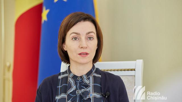 Maia Sandu: Guvernul a întrecut orice măsură. România trebuie să știe că nici Dodon, nici prim-ministrul lui nu reprezintă opinia oamenilor