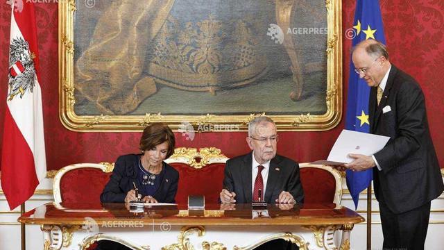 Austria | Noul guvern, condus de Brigitte Bierlein, a depus jurământul