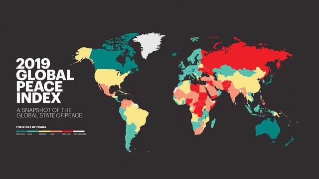 Clasamentul celor mai pașnice țări. Pe ce loc se situează R.Moldova