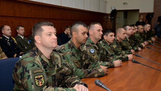 FOTO | Un nou contingent al Armatei Naţionale pleacă în Kosovo