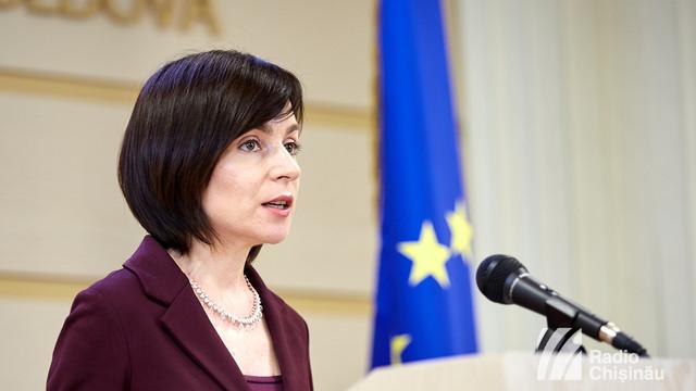 Premierul Maia Sandu i-a mulțumit României și președintelui Klaus Iohannis pentru sprijinul constant pe care îl acordă R.Moldova