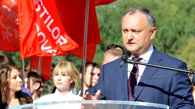 Igor Dodon: PSRM nu va crea coaliție cu PD, probabilitatea alegerilor anticipate este extrem de mare
