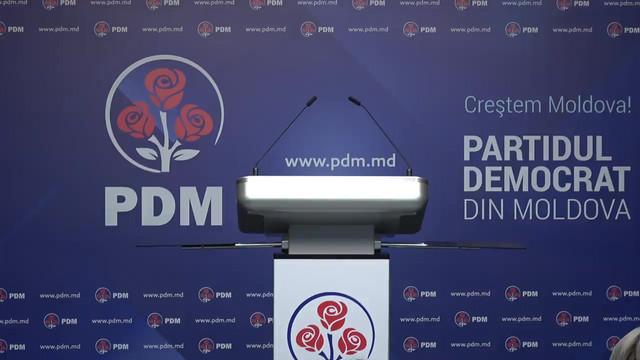 Fracţiunea PDM şi-a delegat membrii în Biroul Permanent al Parlamentului