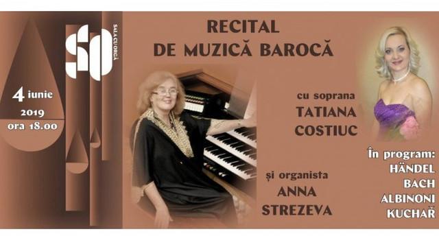 La Sala cu Orgă din capitală va avea loc un recital de muzică barocă
