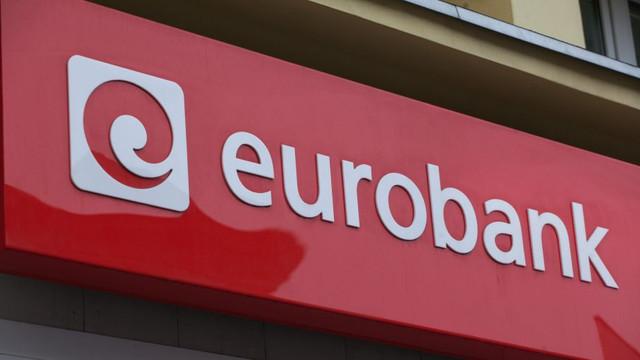 Eurobank obţine 75 de milioane de euro în urma vânzării subsidiarei din Bulgaria
