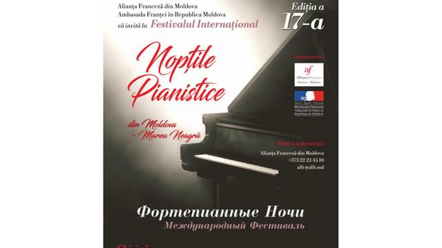 """Festivalul Internațional """"Nopțile Pianistice"""" revine la Chișinău"""