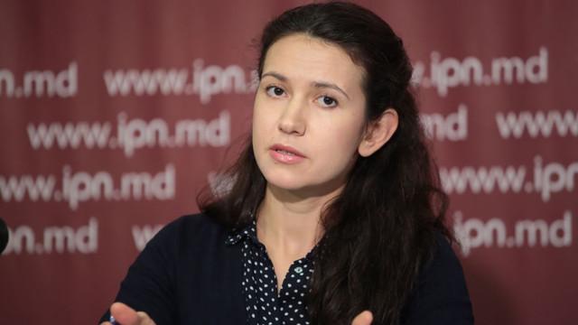 Noul ministru al Justiției, Olesea Stamate, a depus  jurământul