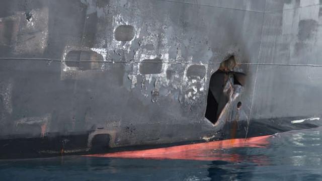 Marina militară americană prezintă dovezi că Iranul este răspunzător de atacurile asupra petrolierelor din Golf