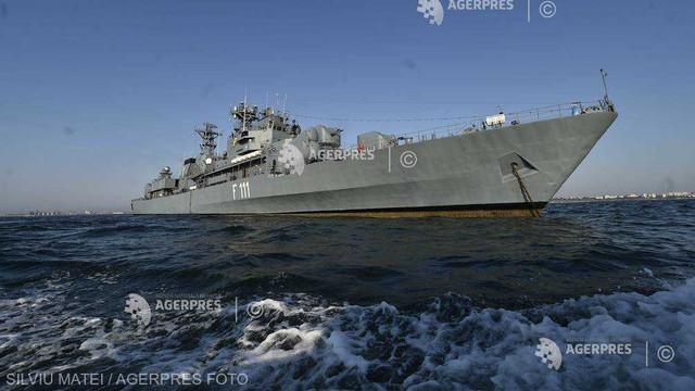 Tomis 19 | Forțele Navale Române execută misiuni de foc în aer și pe mare