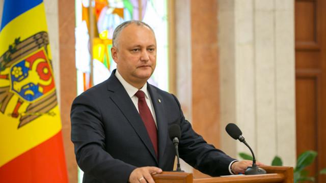 Igor Dodon: Până la 80% din prevederile Acordului de colaborare dintre PSRM și blocul ACUM sunt deja realizate