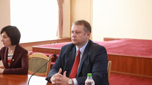 Noul ministru al Economiei și Infrastructurii a fost prezentat echipei. Ce obiective își propune să atingă Vadim Brînzan în activitatea sa