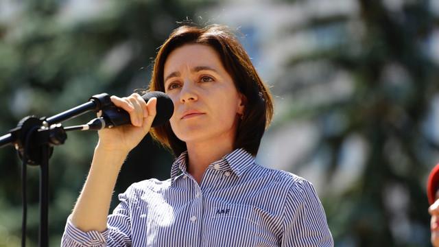 Maia Sandu le-a adresat un apel la calm angajaților instituțiilor statului și funcționarilor publici