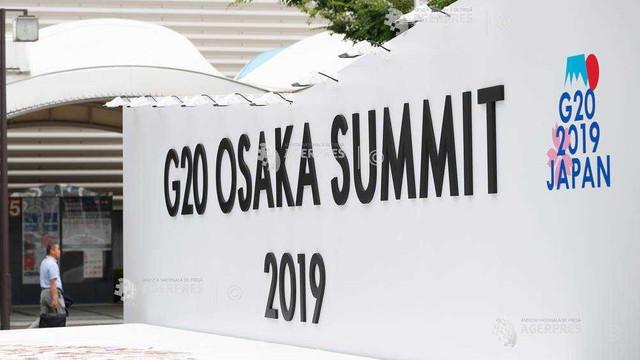 Japonia   La Osaka a început summitul G20