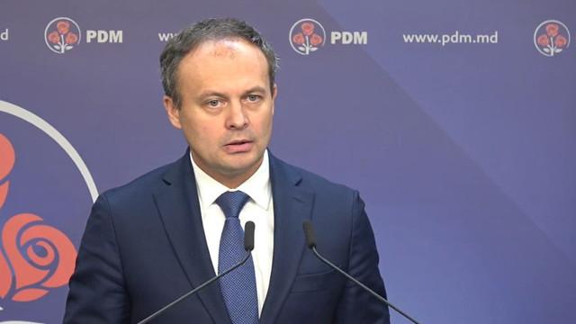 Andrian Candu, despre implicarea lui Vlad Plahotniuc în adoptarea deciziilor legate de agenda politică a PDM
