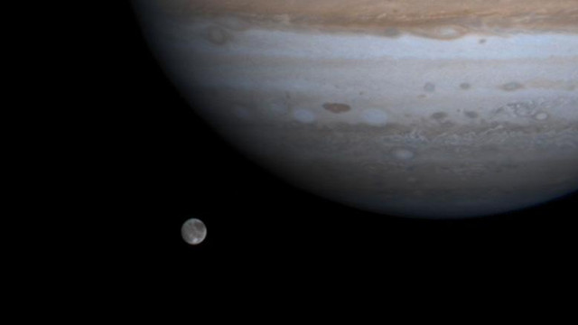 NASA a descoperit sare de masă pe Europa, un satelit al planetei Jupiter