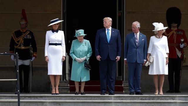 Cum a decurs prima zi a liderului american în Marea Britanie