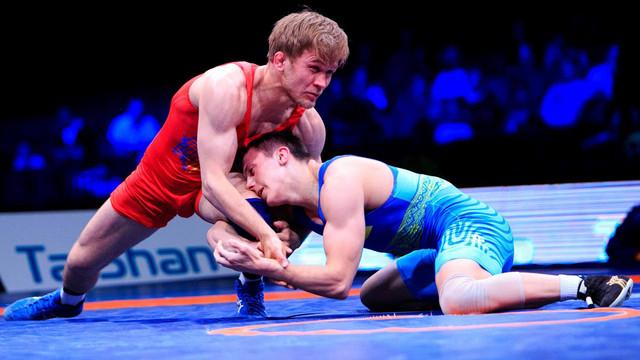 Luptătorul moldovean Andrei Prepeliță va lupta în meciul pentru medalia de bronz la Jocurile Europene de la Minsk