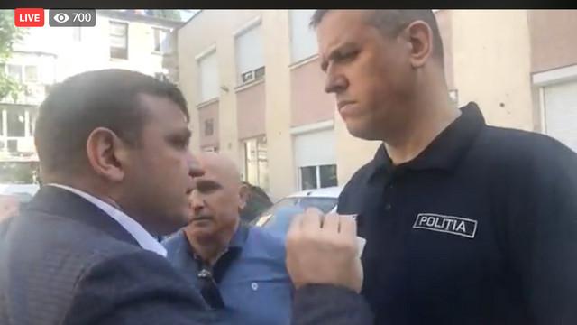 VIDEO AGORA | Altercațiile dintre Andrei Năstase și Alexandru Pînzari din fața sediului INI