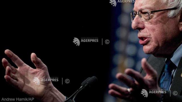 SUA: Candidatul democrat la prezidențiale Bernie Sanders și-a apărat într-un discurs viziunea socialist-democratică