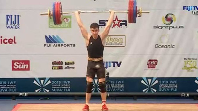 Halterofilul Marin Robu a devenit vicecampion mondial