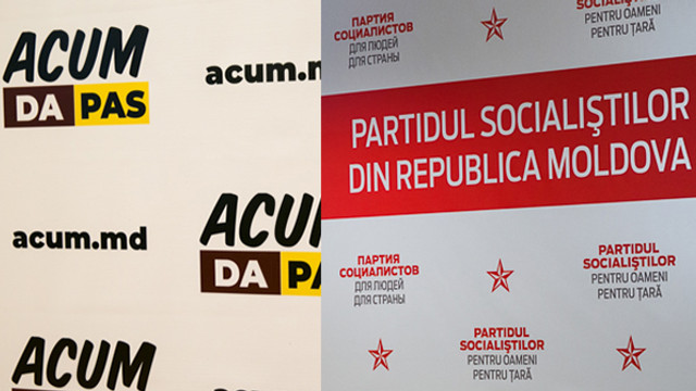 UPDATE | PSRM continuă discuțiile cu blocul ACUM pentru formarea unei coaliții parlamentare