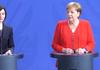 Maia Sandu, alături de Angela Merkel: Nu vrem doar să ne numim europeni, vrem să fim acceptați în UE ca un stat membru de încredere