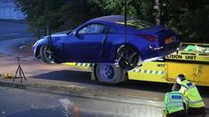 VIDEO   Două mașini s-au ciocnit la un eveniment auto din Marea Britanie. Cel puţin 17 persoane au fost rănite