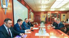 Igor Dodon l-a prezentat la Moscova pe candidatul la șefia Moldovagaz