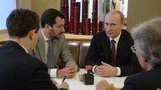 """""""Minionul"""" lui Putin din Italia. Justiția anchetează o posibilă înțelegere între Salvini cu agenții Rusiei"""